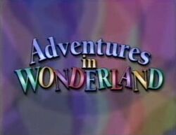 Adventures in Wonderland (title card)