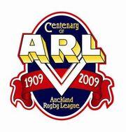 Auckland RL Centenary logo 2009