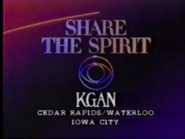 KGAN-TV Share The Spirit 1986