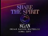 KGAN-TV Share The Spirit 1986