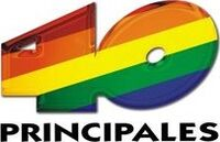 Logo 40 Principales (2007-2011)