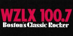 WZLX 100.7 logo