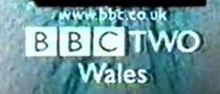 BBC Two Wales Logo 1997
