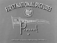 First National Pictures (1926-1936)