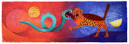 Google Rufino Tamayo's 114th Birthday