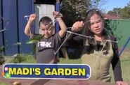Nickelodeon Nick Jr. Gardening for Kids with Madi Logo Madi's Garden
