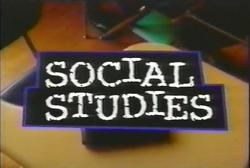 Social Studies alt