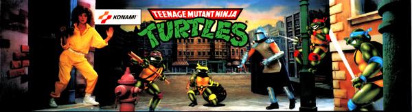 Teenage Mutant Ninja Turtles marquee
