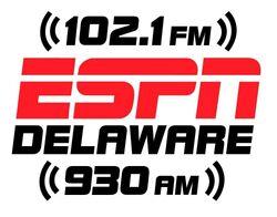 WYUS ESPN Delaware 102.1 FM 930 AM