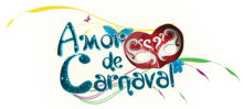 Amor de carnaval logo