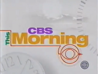 CBS This Morning 1999