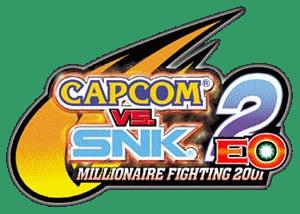 Capcom vs SNK 2 EO Millionaire Fighting 2001 Logo