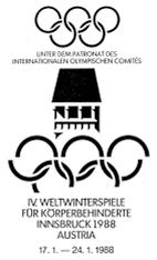 Innsbruck 1988 Paralympics logo