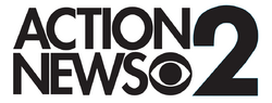 KCBS Channel 2 Action News 1987-88 Logo