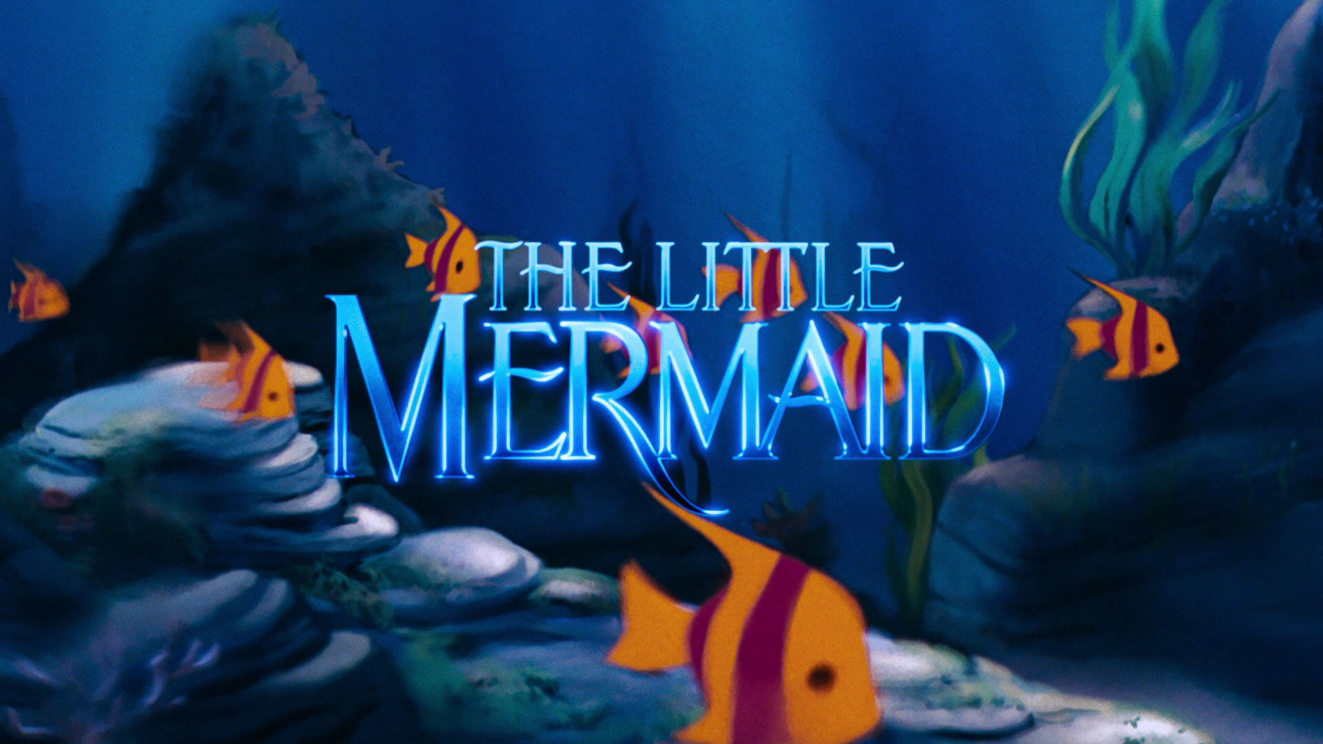 Image result for the little mermaid 1989 opening credits