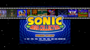 Sonic Mega Collection Title Screen 16x9 Open Matte