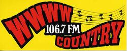 WWWW - COUNTRY - 106.7 FM