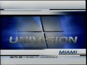 Wltv univision miami blue opening 2001