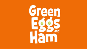 Green Eggs and Ham show logo