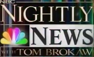 NBC Nightly News 2004 (with Tom Brokaw)