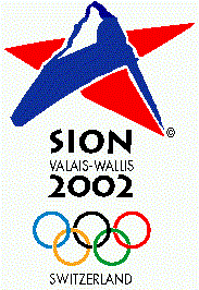 Sion 2002 Olympic bid logo