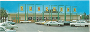 Sunshine Supermarket at Beck, 1972