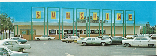 Sunshine Supermarket at Beck, 1972