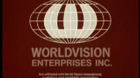 "Worldvision ""Red Radar Globe"" Logo (1974-B) Silent ""Variant"""
