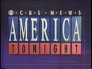 CBS News America Tonight 1991