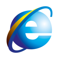 Internet Explorer 4-5 logo