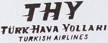 THY - Türk Hava Yollari Logosu (1956-1964)