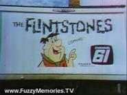 WKBF-TV The Flintstones Promo Billboard