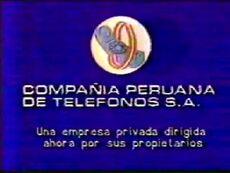 Compañia Peruana de Telefonos 1985 (Logo)