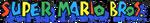 Super Mario Bros. 1990 logo (1-line)