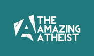 The Amazing Atheist- green background
