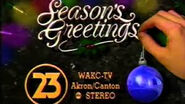 WAKC-TV 23 SEASONS GREETINGS-'93