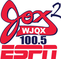 WJQX Jox 2 ESPN 100.5