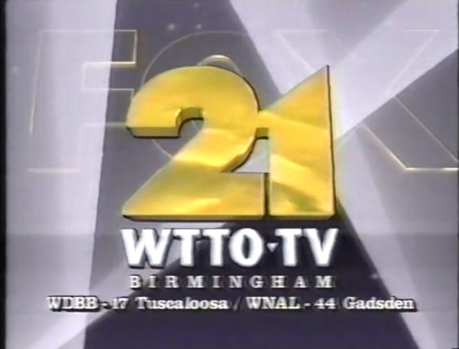 WTTO 21 It's On FOX 1991