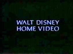 Walt Disney Studios Home Entertainment Logo 1995 Walt Disney Home Video