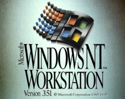 Windows NT 3.51 Workstation