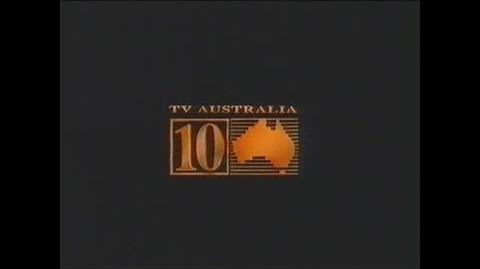 10 TV Australia Production Endboard (1989)