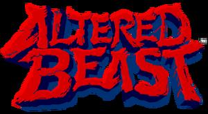 Altered Beast trophy logo