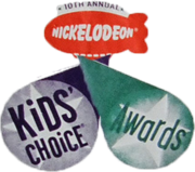 Kids' choice awards 1997 Logo 6