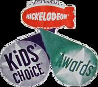 Kids' choice awards 1997 Logo 6