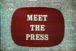 NBC News' Meet The Press Video Open From The Late 1960's