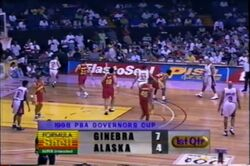 PBA on Vintage Sports scorebug 1998 Comms Cup and Govs Cup
