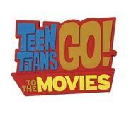 Teen Titans go to the movies logo