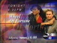 ABC 33-40 promo for Wheel of Fortune in 2002