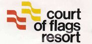 Court of Flags Resort logo 1974