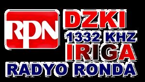 RPN Radyo Ronda DZKI 1332 Iriga
